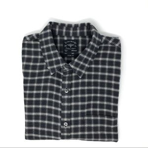 Lucky Brand Slim Fit Flannel Shirt Size M